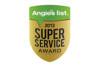 2013 Angies List Super Service Award